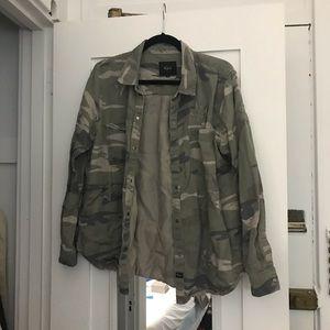 Rails Camoflage Shirt